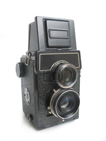 Isolated vintage camera