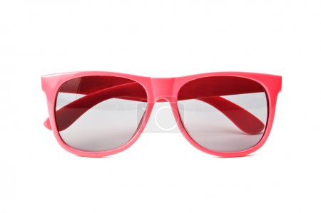 Photo for Pink sunglasses isolated on a white background - Royalty Free Image