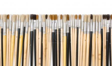 Brush drawing