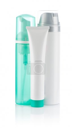 Cosmetical bottles and tube