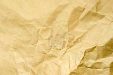 Foto de Viejo papel arrugado. Fondo de textura - Imagen libre de derechos