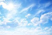 """Постер, картина, фотообои """"солнечное небо"""""""