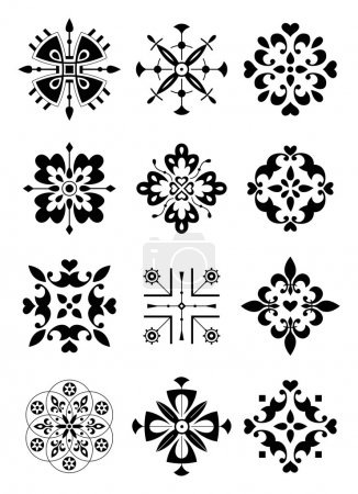 Ornament, decor, pattern