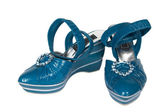 Scarpe donne blue scure