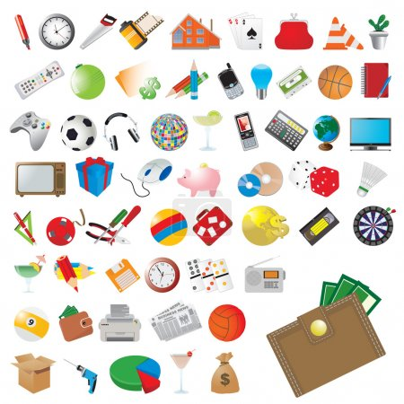 Icons set. Vector for you design...
