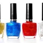 Mix of colors nail polish...