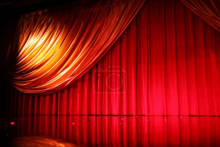 Photo pour Théâtre élégant rétro - image libre de droit