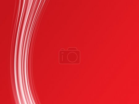 Photo for Abstract lines on a red background. - Royalty Free Image