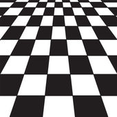 Black and white checker