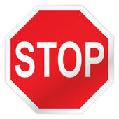 "Постер, картина, фотообои ""Stop road sign"""