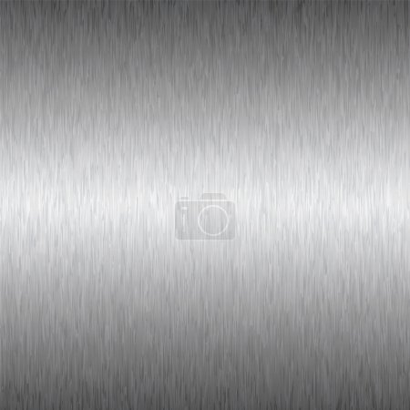 Photo for Abstract brushed silver metal background ideal wallpaper or desktop - Royalty Free Image