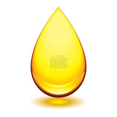 Amber droplet