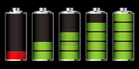 Battery charge section