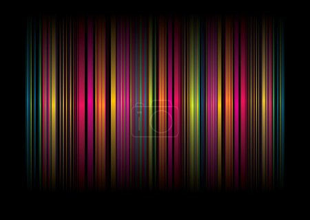 Rainbow stripe bg
