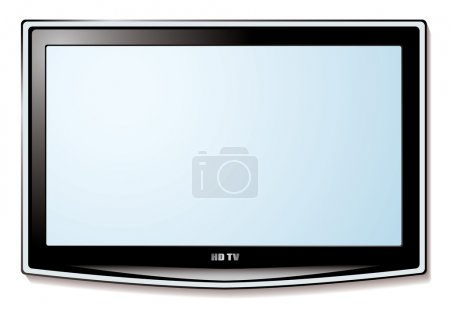LCD tv white screen