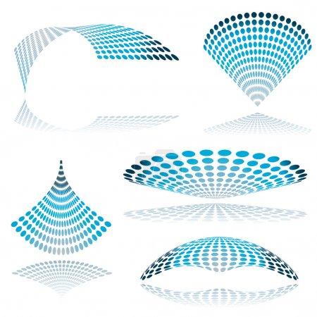 Circle mesh twist
