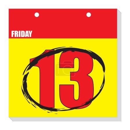 Calendar fri 13