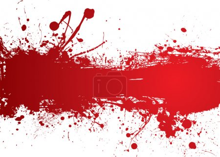 Blood red banner with room to add your own text...