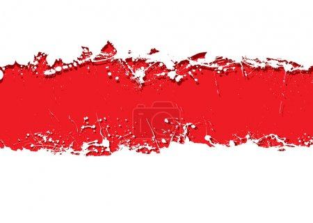 Grunge strip background blood