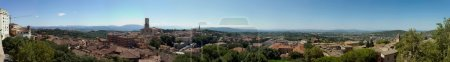 Panoramic View of Perugia in Tiber's Valley...