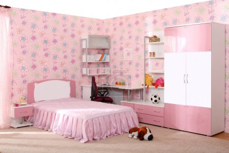 Photo for Studio photographing of an interior of a children's room - Royalty Free Image
