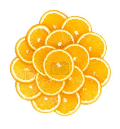 Naranjas en rodajas