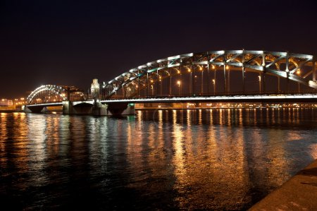 St. Petersburg, Okhtinsky bridge