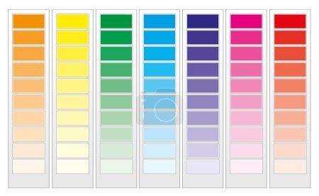 Color guide chart, part 1