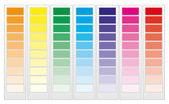 Color guide chart part 1