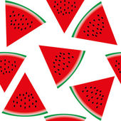 Seamless pattern with watermelon part 1 vector illustration