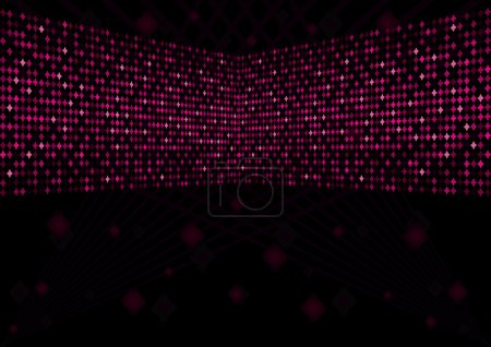 Disco pink background 2