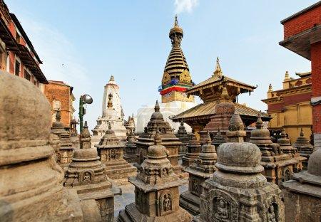 Swayambhunath (monkey temple) stupa