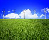 Wind turbine and landscape