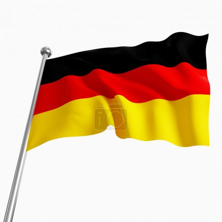 German flag 3d