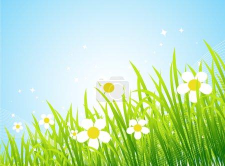 printemps pré belle