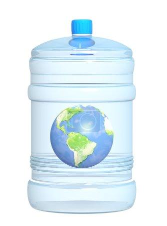 Photo pour Préservation des stocks d'eau dans la nature - image libre de droit