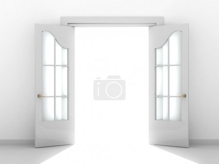 Photo for Conceptual image - a way to success - Royalty Free Image