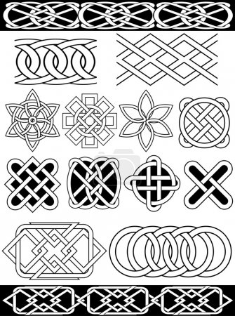 Vector celtic knots