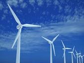 Farma větrných turbín