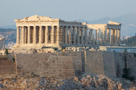 Photo for Parthenon temple in Greece,the place where democracy was born - Royalty Free Image