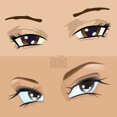 Eyes girl
