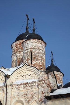 Photo pour Cathédrale de l'Assomption (Uspensky), ancien monastère orthodoxe Kirillo-Belozersky, ville de Kirillov, Russie . - image libre de droit
