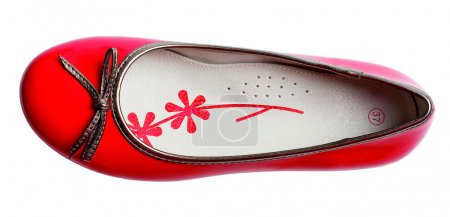 Red fashion glomour shoe