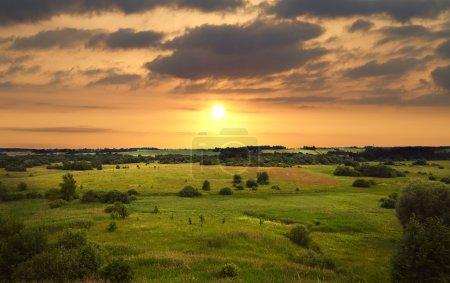 Photo for Sunset landscape - Royalty Free Image