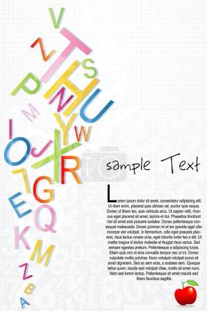 Alphabetical background