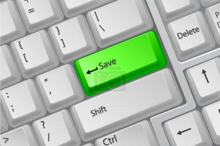 Botones de teclado