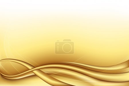 Photo for Illustration of golden background - Royalty Free Image