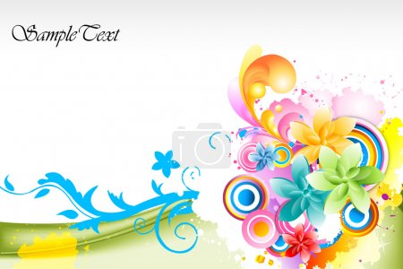 Photo for Illustration of abstract colorful background - Royalty Free Image