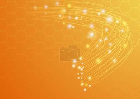 Abstract ray light background