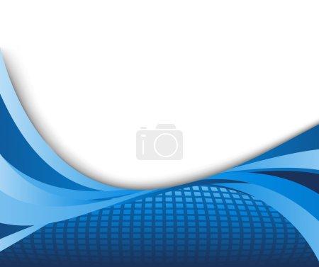 Blue technology hi-tech background